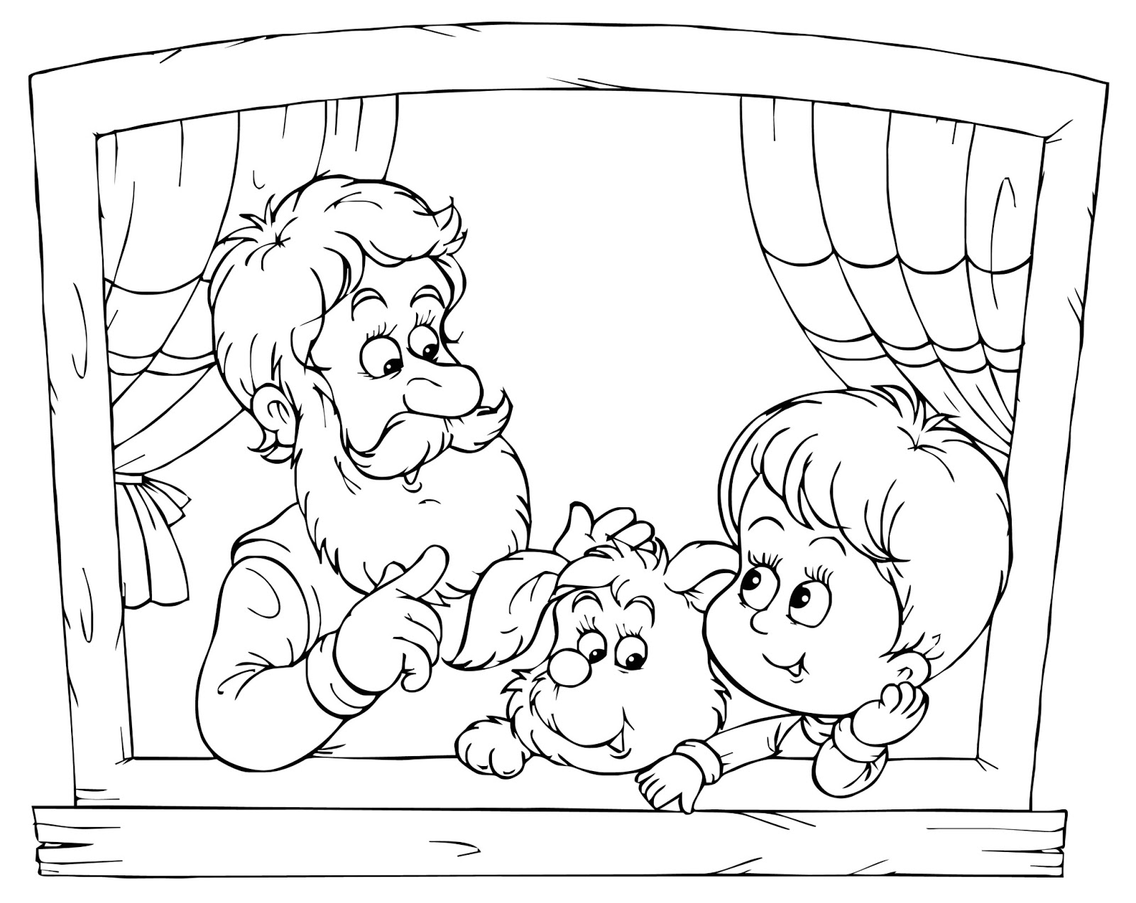 k coloring pages for kids - photo #32