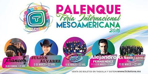 palenque feria mesoamericana internacional tapachula 2016