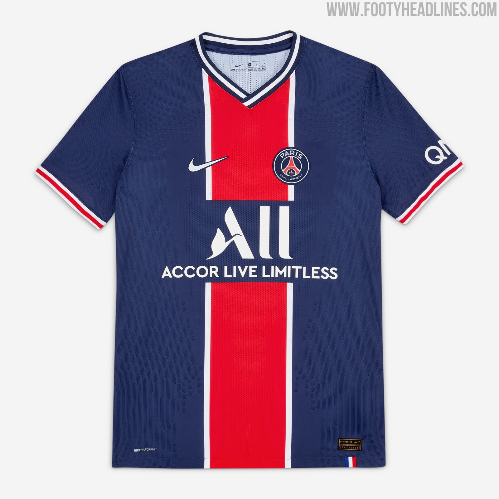 20 21 Home Kit Design 2 Psg Face Masks Released Limited To 1 000 Pairs Footy Headlines