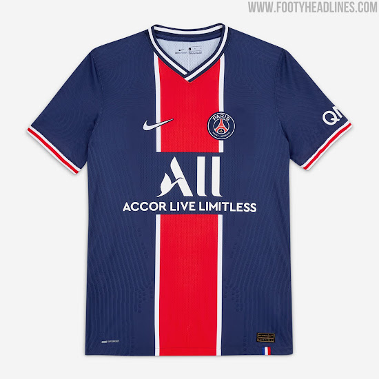 Nike Psg 20 21 Home Kit Released Footy Headlines