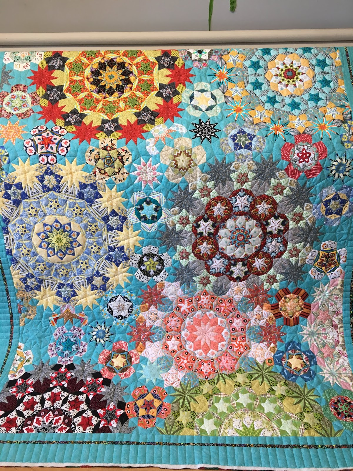 Grass Roots Quilting English Paper Piecing Millefiori Style