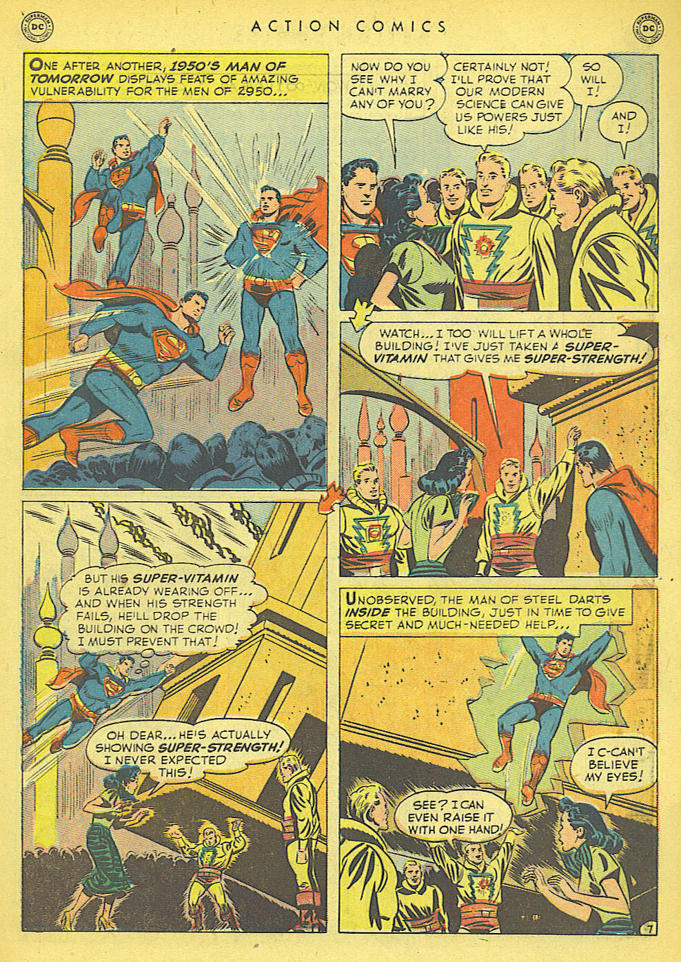 Read online Action Comics (1938) comic -  Issue #152 - 9