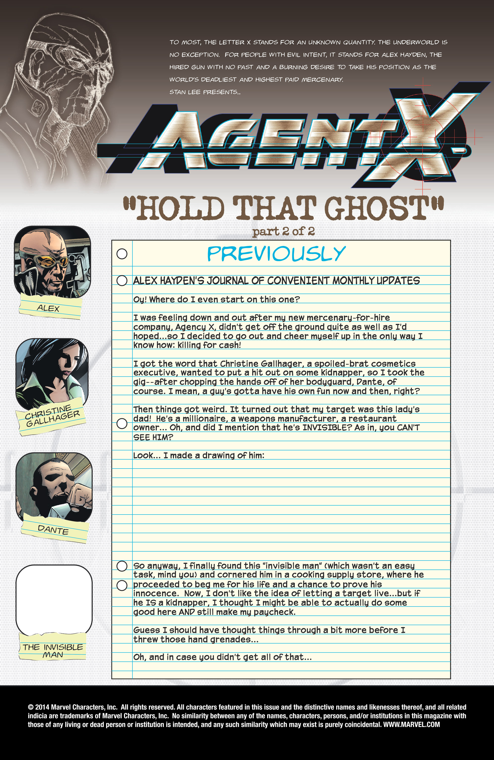 Read online Agent X comic -  Issue #9 - 2