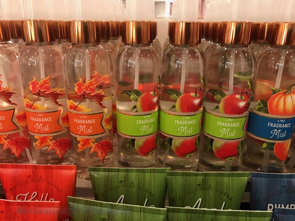 Life Inside The Page Bath Body Works New Fall Signature