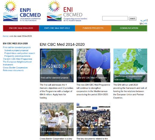 La Comunitat, candidata a liderar el programa europeo ENI CBC MED, dotado con hasta 500 millones euros