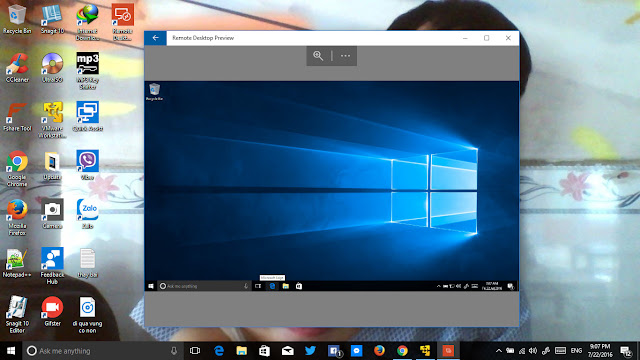 Microsoft Remote Desktop Preview cho Windows 10