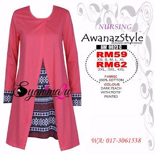 T-Shirt-Muslimah-Awanazstyle-AW0023C