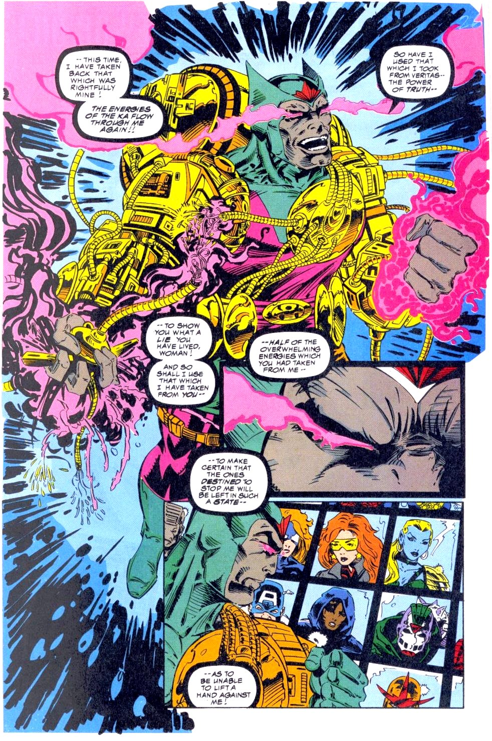 The New Warriors Issue #47 #51 - English 20