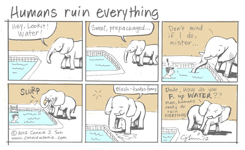 Humans Ruin Everything by Connie Sun