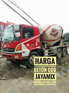 Beton Cor JAYAMIX MURAH Kab.Bogor 2018