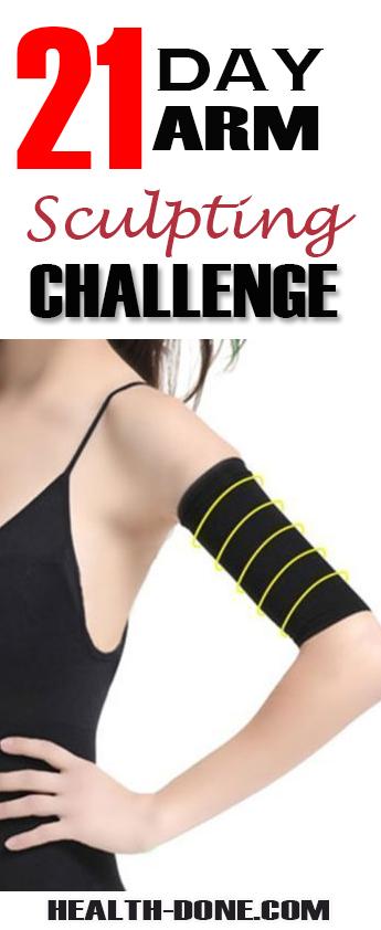 arm sculpting challenge