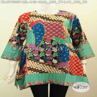 blouse batik wanita modern dan murah