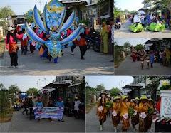 Semarak Kemeriahan Karnaval Budaya Desa Lengkong Batangan Pati
