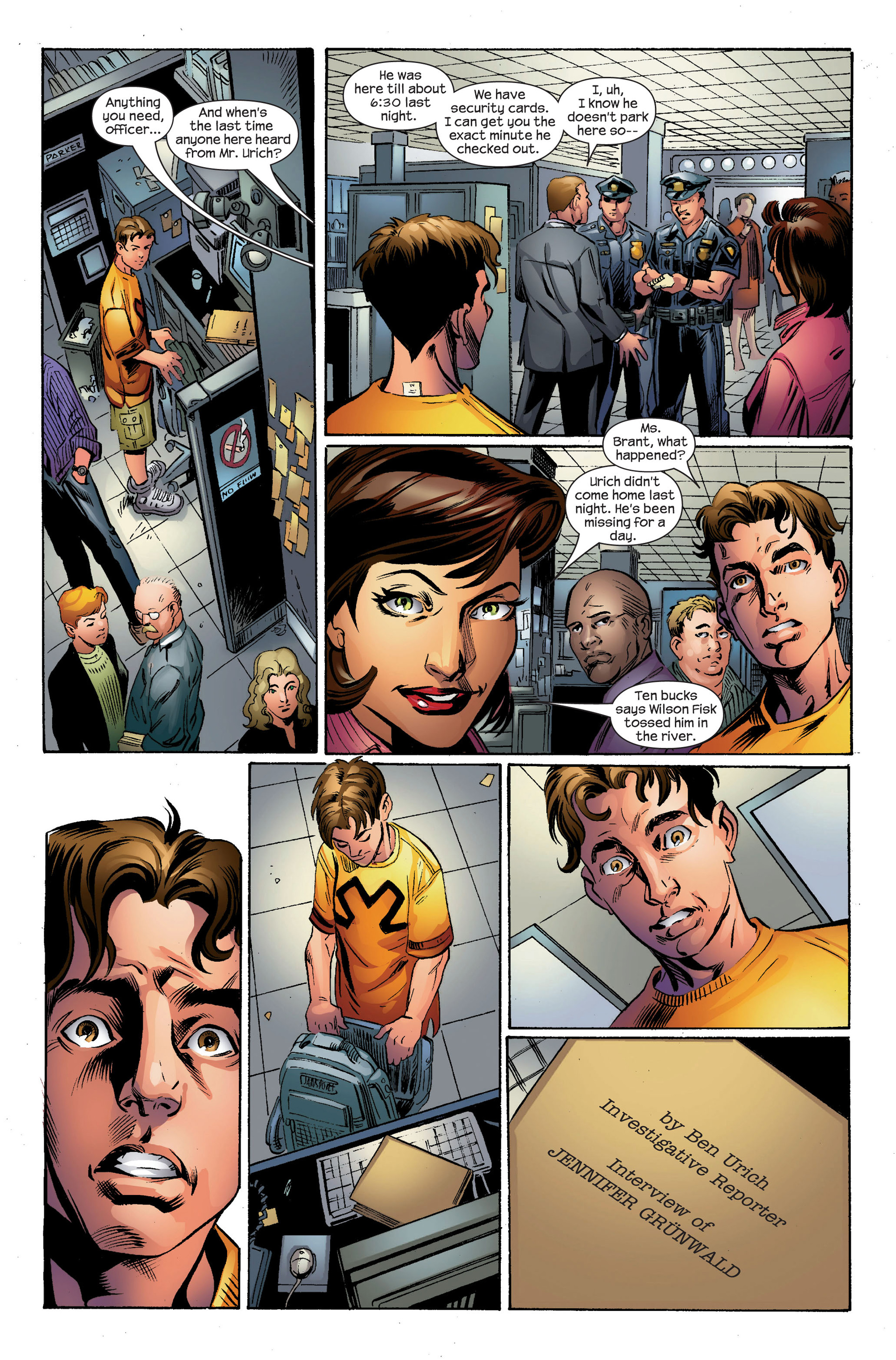 Read online Ultimate Spider-Man (2000) comic -  Issue #95 - 20