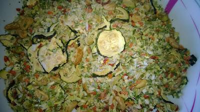 Zutaten der Minestrone Suppe