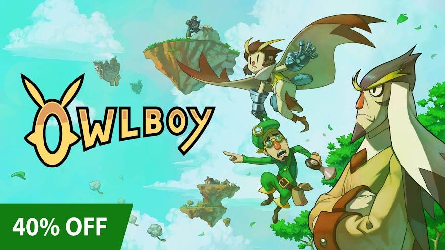 owlboy xbox pixel art sale