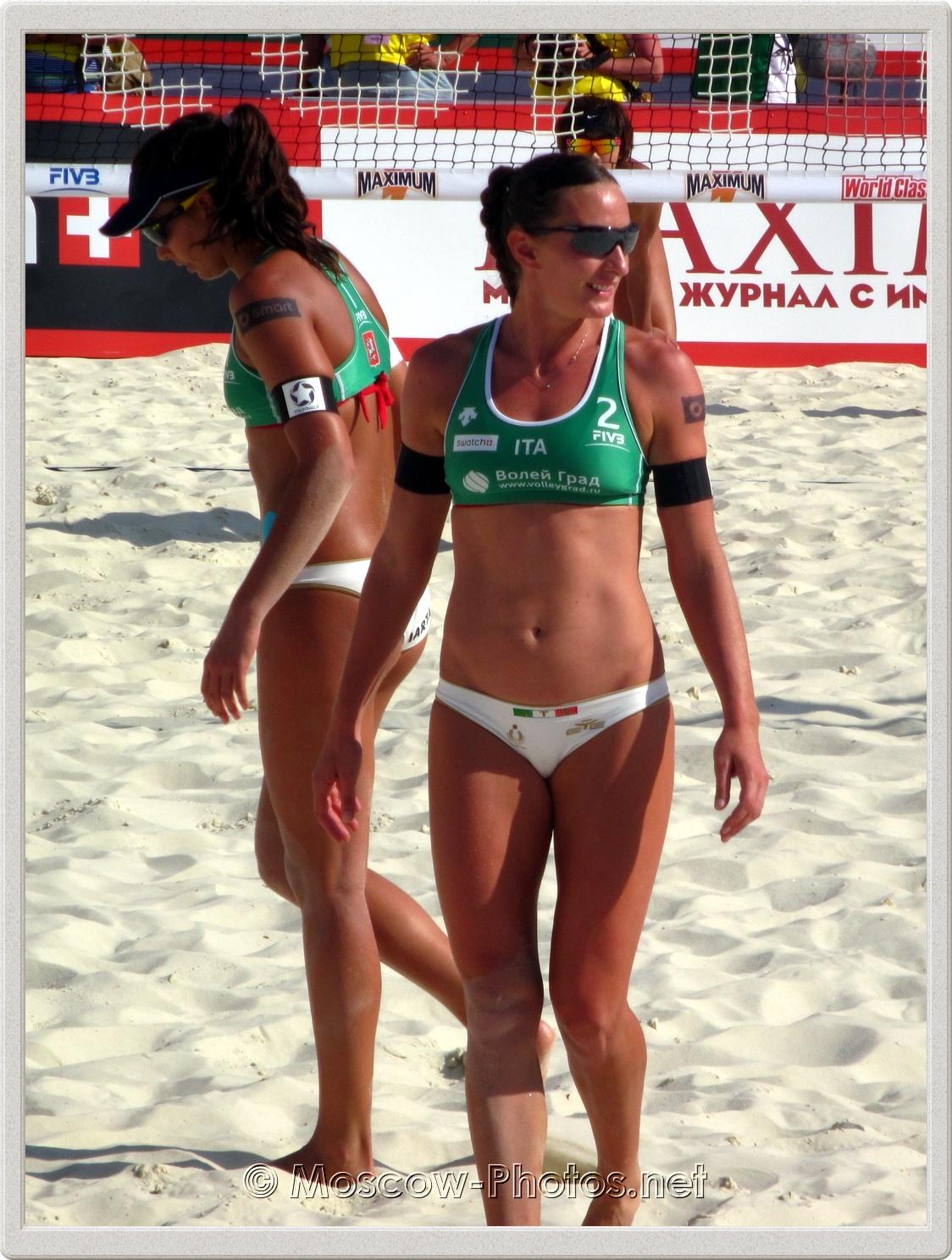 Hot Tanned Italian Girls - Marta Menegatti & Greta Cicolari