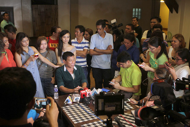 Media man to Duterte: Bring it on Mr. President, we will take your challenge