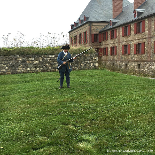Fortress of Louisbourg in Nova Scotia Tour - Andrea Tiffany A Glimpse of Glam