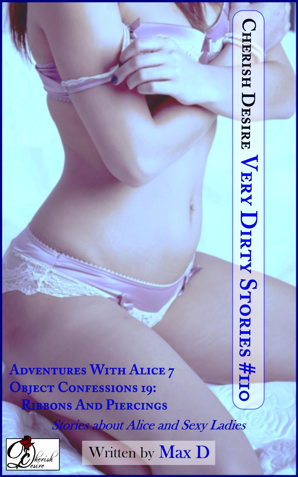 Cherish Desire: Very Dirty Stories #110, Max D, erotica