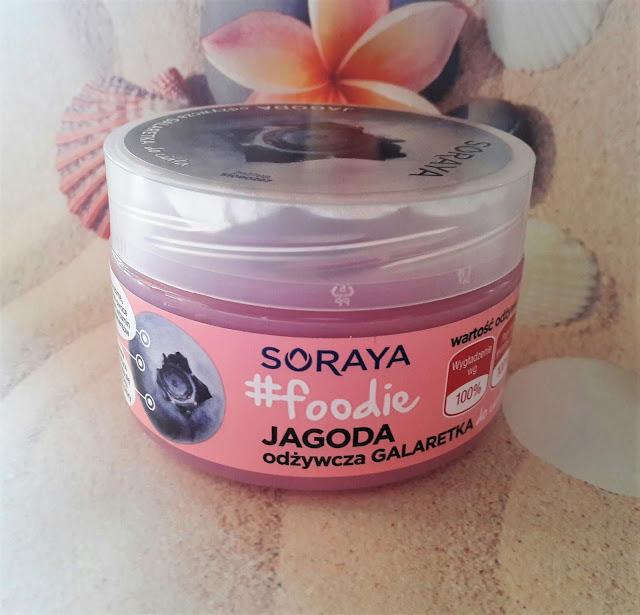 Soraya food odżywcza galaretka do ciała jagoda