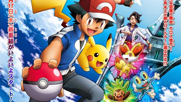 Todos os Episódios de Pokémon XY Dublados e Legendados Online