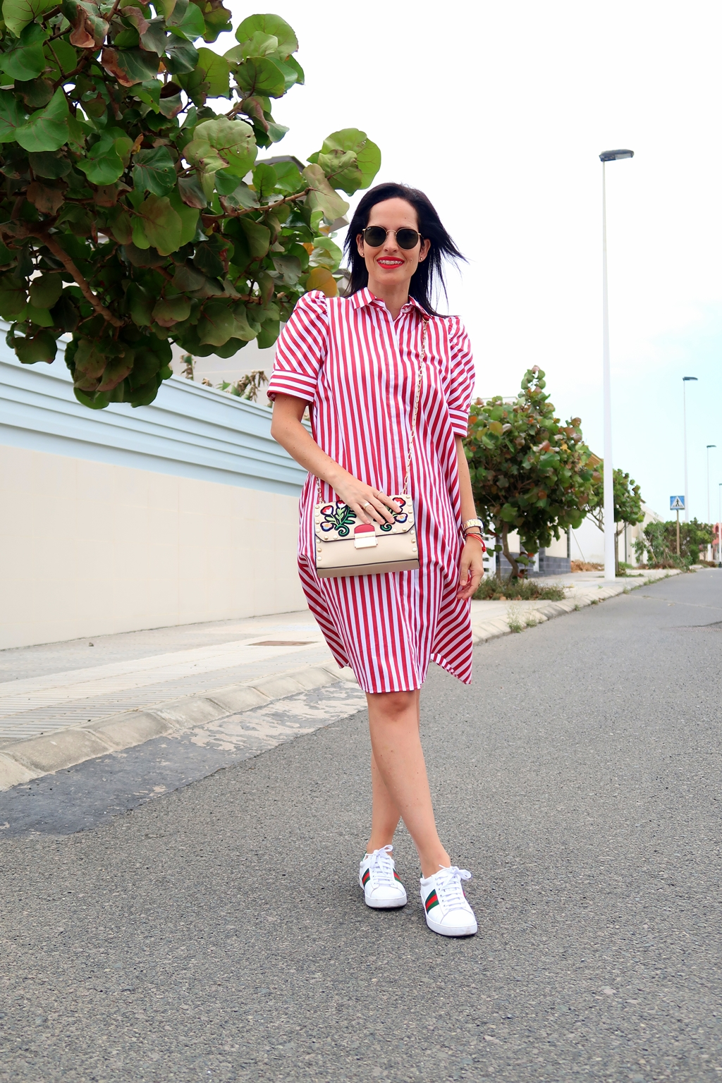 zara-striped-shirt-dress-outfit-streetstyle