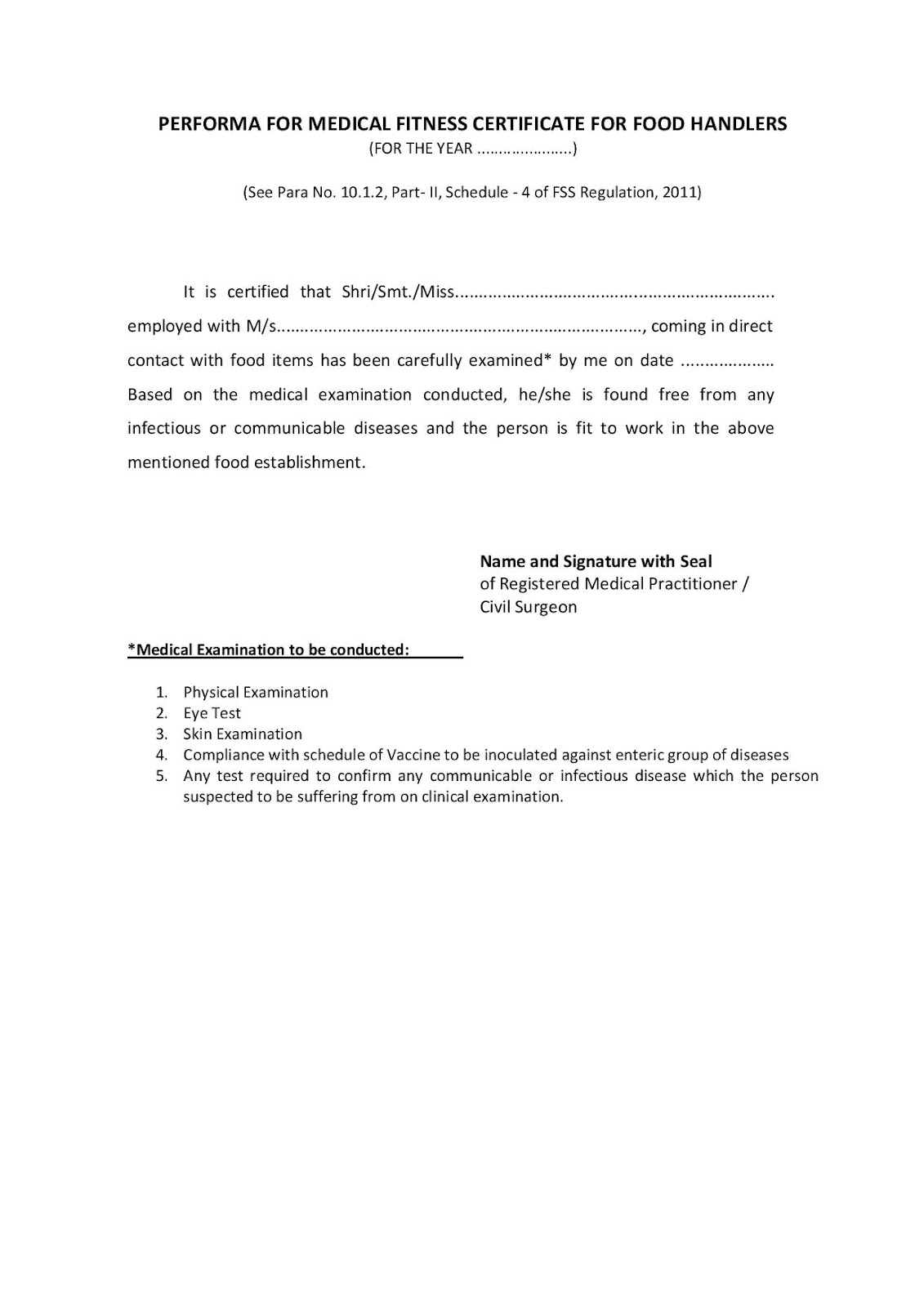 Medical Certificate Template Business Proposal Templates Free