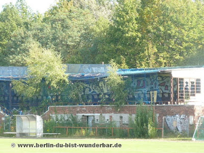 BVG, Stadion, Berlin, Lichtenberg, verlassene, Tribune, Herzberge, Dankmalschutz