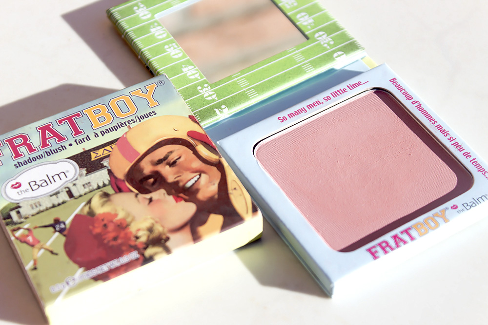 The Balm Frat Boy review