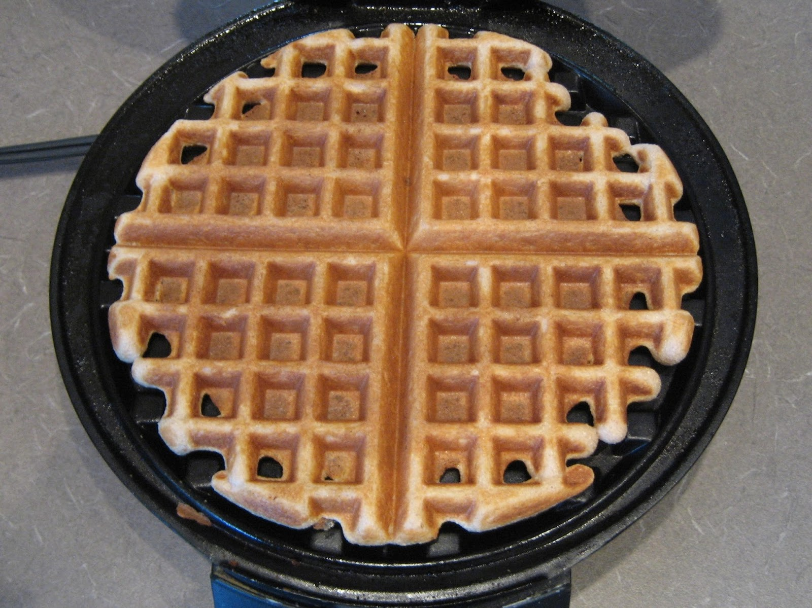 Dinner in the Life of a Dad—Coconut Flour Waffles. Super easy recipe for a gluten-free, low-carb breakfast!