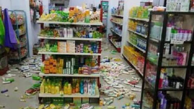 Ini Klarifikasi Mendagri Soal Korban Gempa Sulteng yang Gratis Ambil Makanan di Minimarket