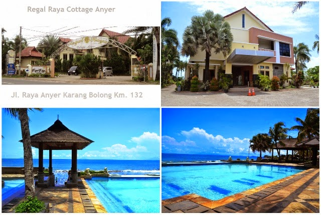Regal Raya Cottage Anyer Kolam Renang View Pantai
