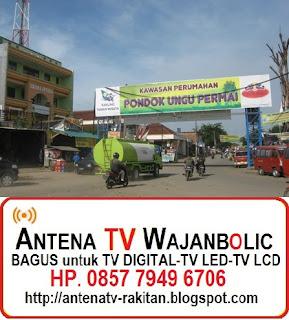 Jual ANTENA TV WAJANBOLIC  PONDOK UNGU PERMAI BEKASI
