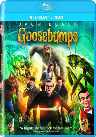 Goosebumps 2015 BluRay 800Mb Hindi Dual Audio 720p Watch Online Full Movie Download bolly4u
