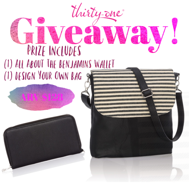 Thirty-One Galentine's Prize Bundle Giveaway