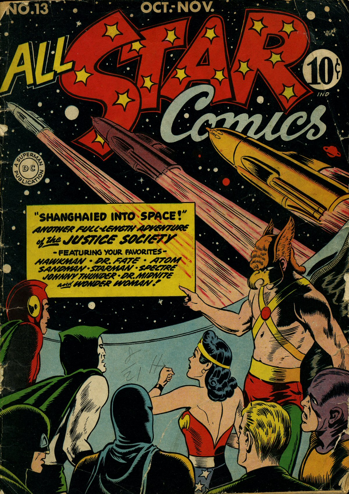 Read online All-Star Comics comic -  Issue #13 - 1