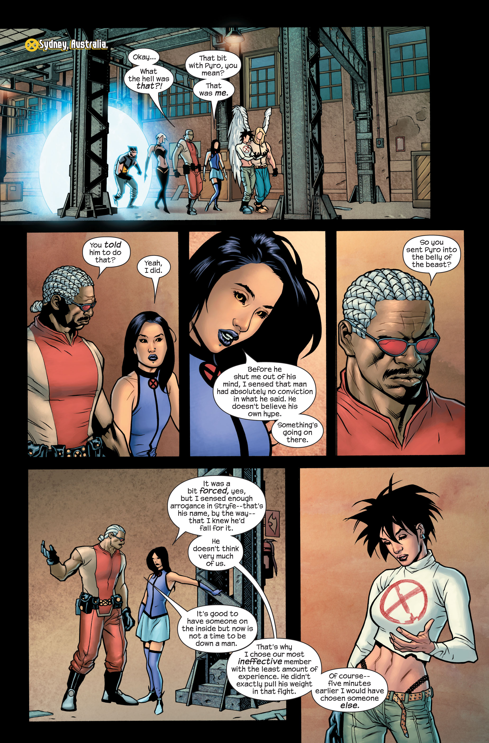 Read online Ultimate X-Men comic -  Issue #85 - 13