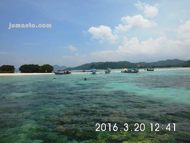 foto Pulau Pahawang Kecil