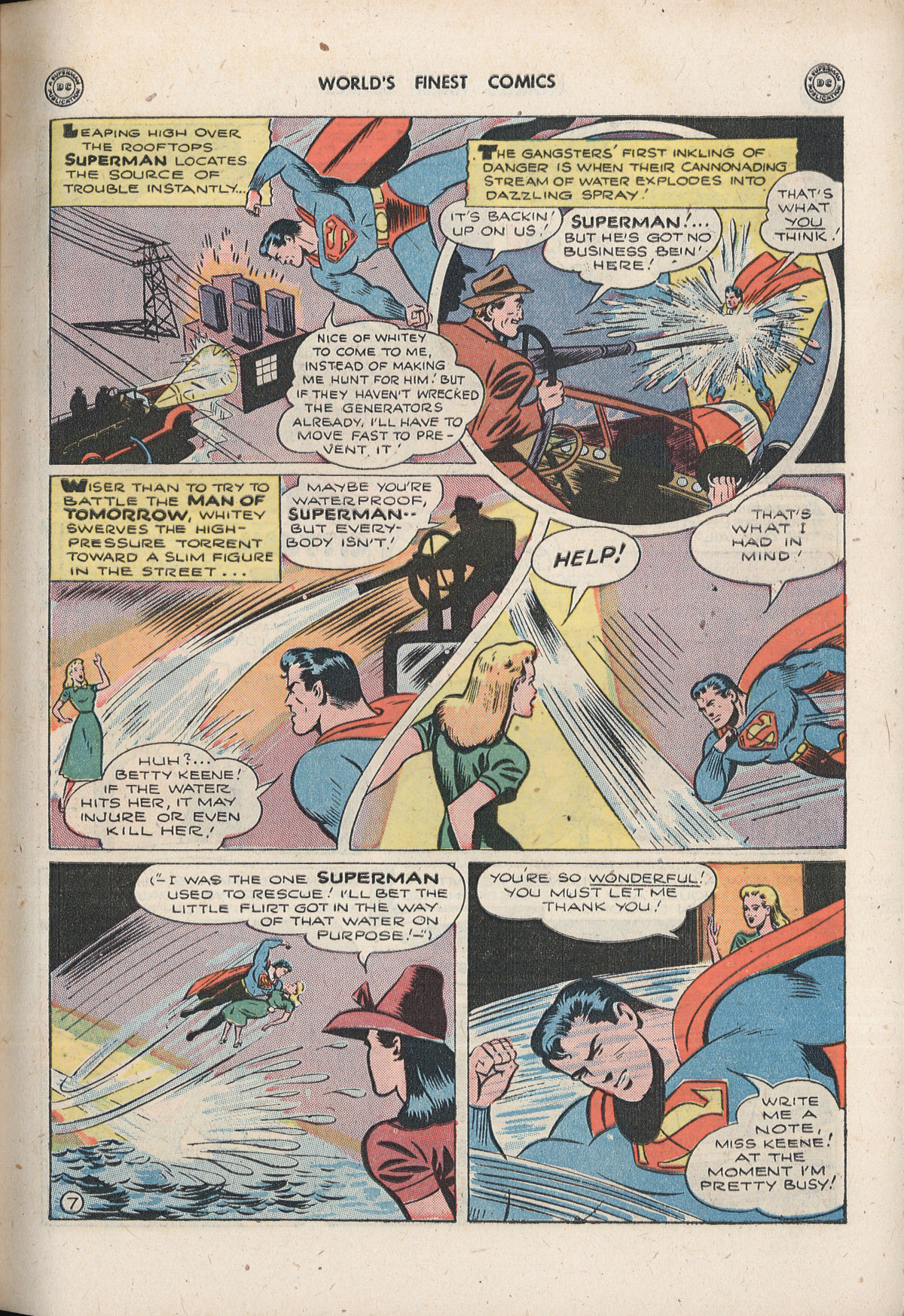 Read online World's Finest Comics comic -  Issue #33 - 9