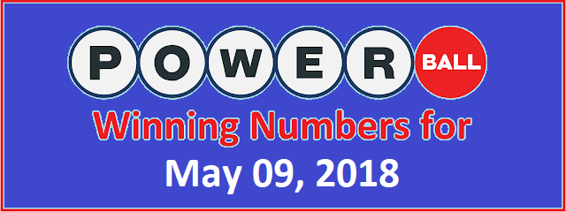 PowerBall Winning Numbers for Wednsday, 9 May 2018