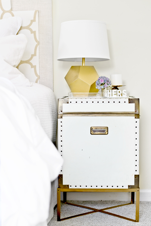 Pottery Barn Ludlow Trunk KnockOff Infarrantly Creative - Pottery barn trunk end table