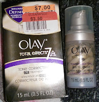 Big Lots haul review OLAY Total Effects Tone Correcting EYE Treatment cream moisturizer