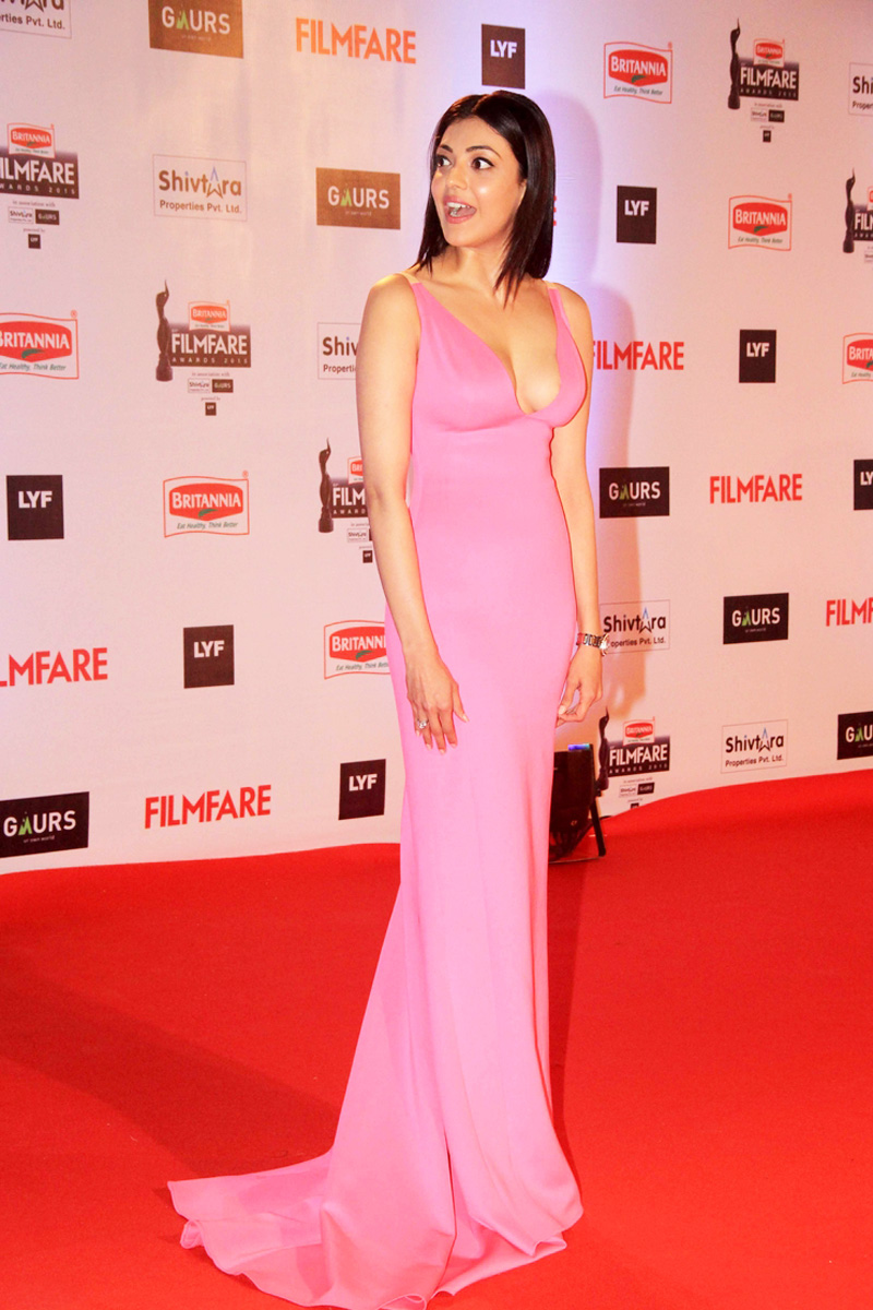 Kajal Aggarwal Photos at Filmfare Awards