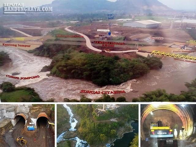 Data dan Fakta Terowongan Nanjung di Curug Jompong, Margaasih