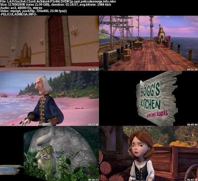 Descargar La Princesa Cisne: Aventura pirata Castellano por MEGA.