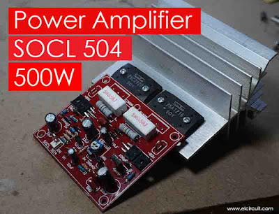 Power Amplifier SOCL 504 500W-2000W