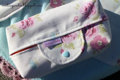 Conjunto de bebé em tecido - Porta toalhetes