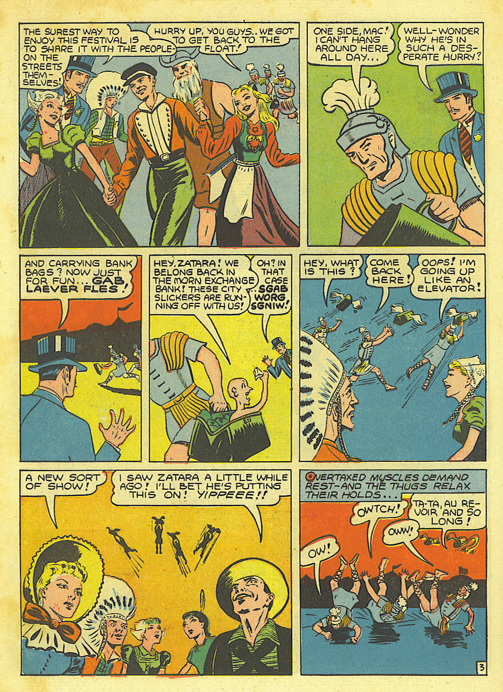 Read online Action Comics (1938) comic -  Issue #67 - 52