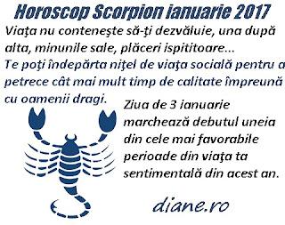 Horoscop ianuarie 2017 Scorpion